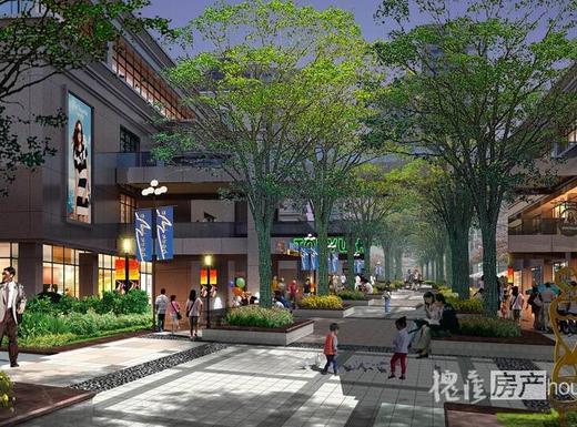 城南中心区实景图