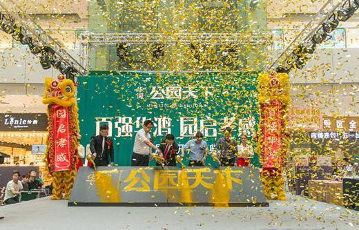 华鸿·公园天下活动图