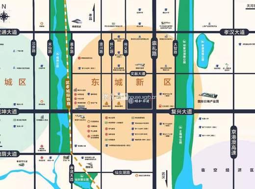 湖北交投·颐和华府交通图