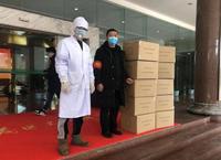 绿城·孝感桂语江南捐赠5万只医用口罩驰援防疫工作